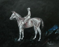Horse art, paintings, drawings  and photographs of horses by artist Tom Conway.