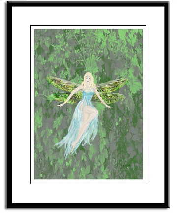 fairy , art by Tom Conway