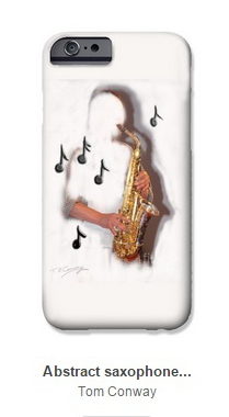 iphone musician saxophone
